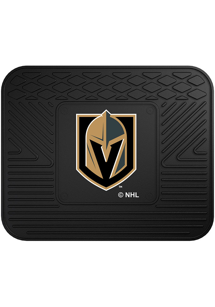 Sports Licensing Solutions Vegas Golden Knights 14x17 Utility Car Mat - Black - Image 1