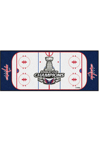 Washington Capitals 30x72 Hockey Rink Runner Interior Rug