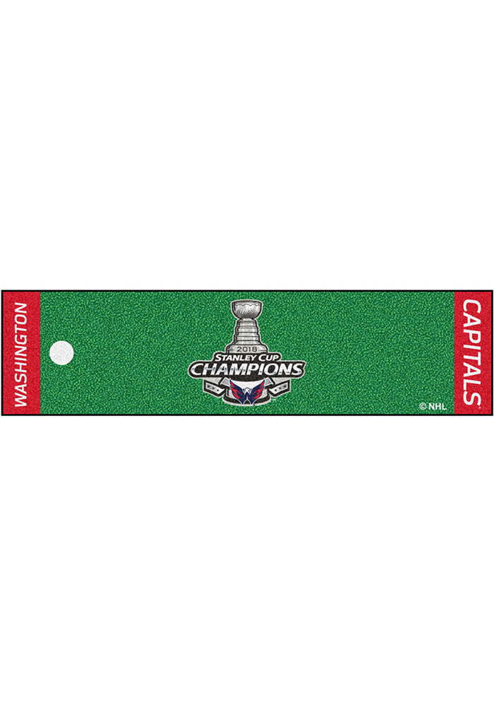 Washington Capitals 18x72 Putting Green Runner Interior Rug - Image 1