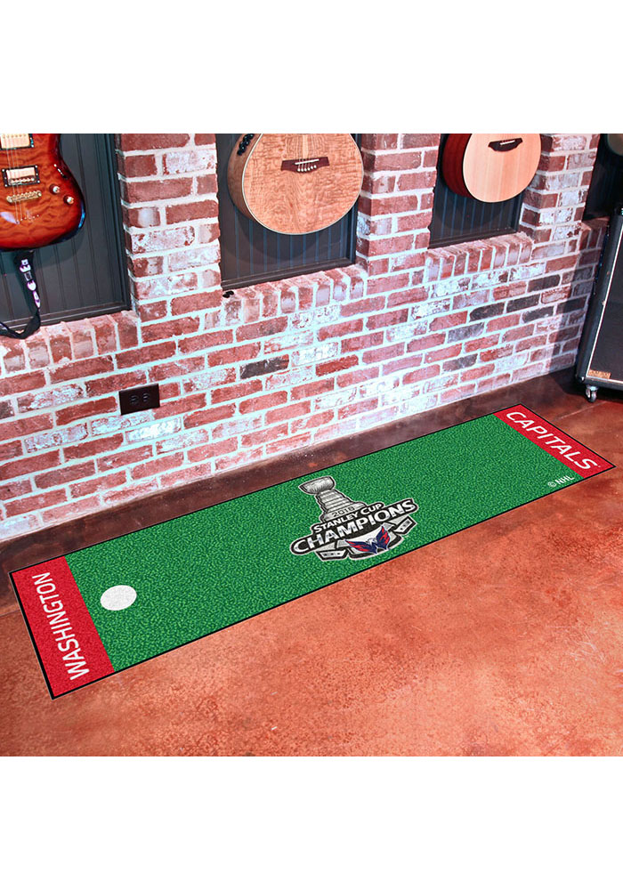 Washington Capitals 18x72 Putting Green Runner Interior Rug - Image 2