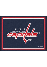 Washington Capitals 8x10 Plush Interior Rug
