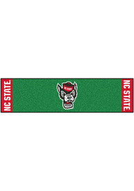 NC State Wolfpack 18x72 Putting Green Runner Interior Rug