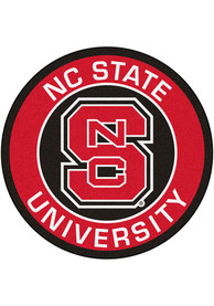 NC State Wolfpack 27 Roundel Interior Rug