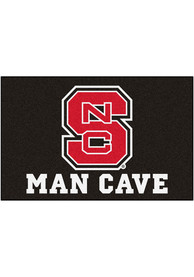 NC State Wolfpack 19x30 Man Cave Starter Interior Rug