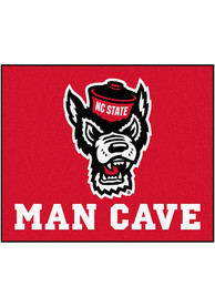 NC State Wolfpack 60x71 Man Cave Tailgater Mat Outdoor Mat