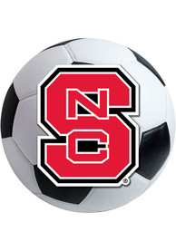 NC State Wolfpack 27 Soccer Ball Interior Rug