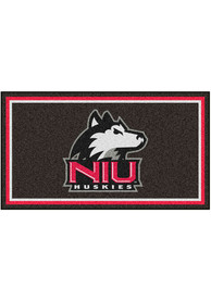 Northern Illinois Huskies 3x5 Plush Interior Rug