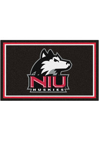 Northern Illinois Huskies 4x6 Plush Interior Rug