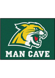 Northern Michigan Wildcats 34x42 Man Cave All Star Interior Rug