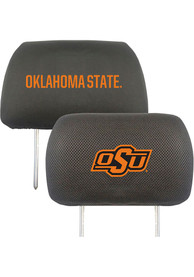 Sports Licensing Solutions Oklahoma State Cowboys 10x13 Auto Head Rest Cover - Black
