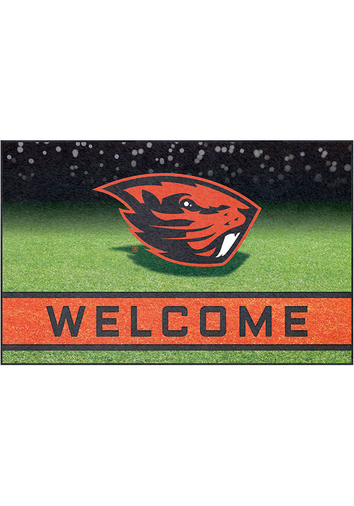 Oregon State Beavers 18x30 Crumb Rubber Door Mat - Image 1