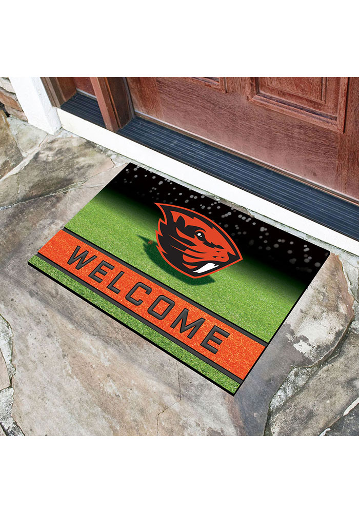 Oregon State Beavers 18x30 Crumb Rubber Door Mat - Image 2