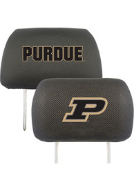 Sports Licensing Solutions Purdue Boilermakers 10x13 Auto Head Rest Cover - Black