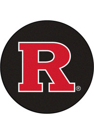 Rutgers Scarlet Knights 27 Hockey Puck Interior Rug