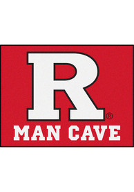 Rutgers Scarlet Knights 34x42 Man Cave All Star Interior Rug