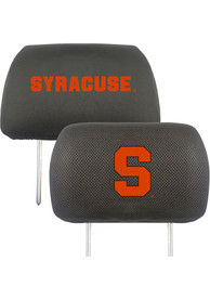 Sports Licensing Solutions Syracuse Orange 10x13 Auto Head Rest Cover - Black