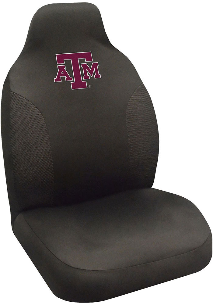 Sports Licensing Solutions Texas A&M Aggies Team Logo Car Seat Cover - Black - Image 1
