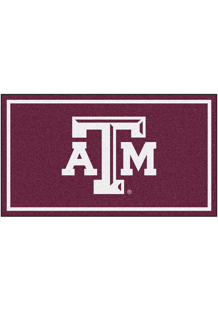 Texas A&M Aggies 3x5 Plush Interior Rug - Image 1