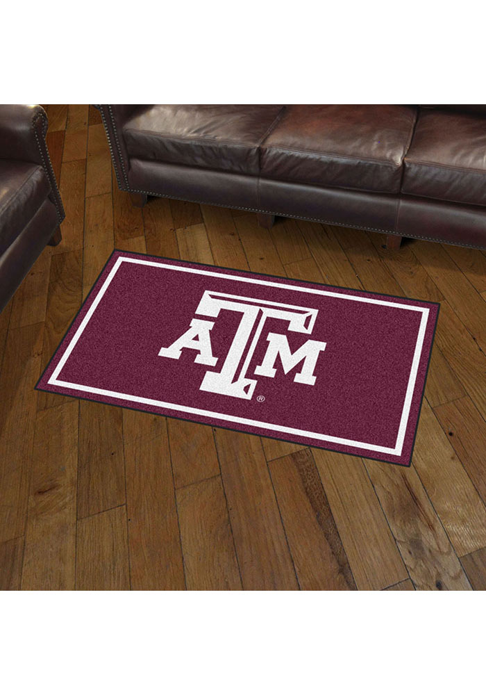 Texas A&M Aggies 3x5 Plush Interior Rug - Image 2