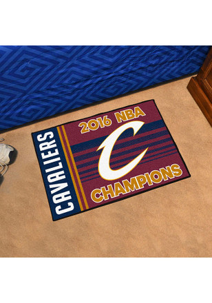 Cleveland Cavaliers NBA Champs 19x30 Interior Rug