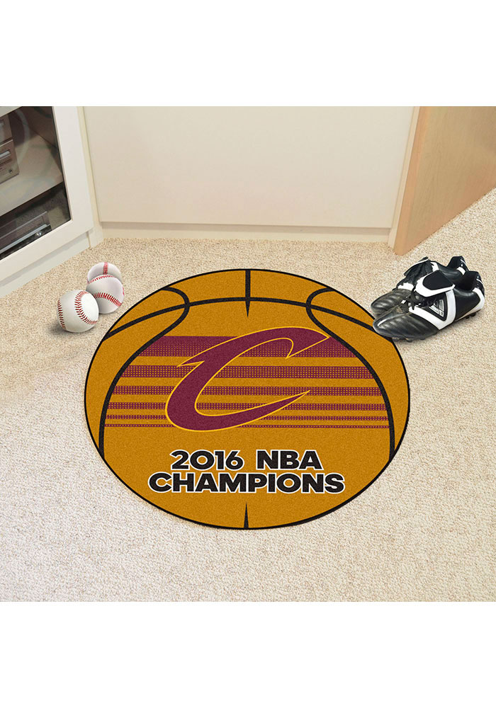 Cleveland Cavaliers 27g 2016 NBA Champs Interior Rug - Image 1