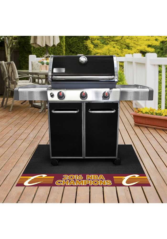 Cleveland Cavaliers 26x42 BBQ Grill Mat - Image 1