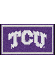 TCU Horned Frogs 3x5 Plush Interior Rug