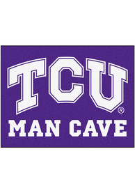 TCU Horned Frogs 34x42 Man Cave All Star Interior Rug