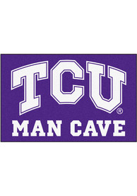 TCU Horned Frogs 19x30 Man Cave Starter Interior Rug