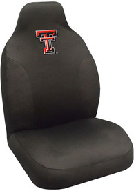Sports Licensing Solutions Texas Tech Red Raiders Team Logo Car Seat Cover - Black