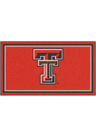 Texas Tech Red Raiders 3x5 Plush Interior Rug
