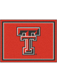 Texas Tech Red Raiders 8x10 Plush Interior Rug