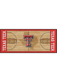 Texas Tech Red Raiders 30x72 Court Runner Interior Rug