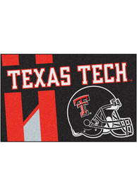 Texas Tech Red Raiders 19x30 Uniform Starter Interior Rug