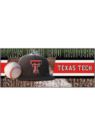 Texas Tech Red Raiders 30x72 Baseball Runner Interior Rug