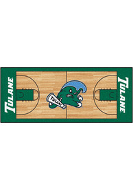Tulane Green Wave 30x72 Court Runner Interior Rug