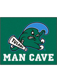 Tulane Green Wave 60x71 Man Cave Tailgater Mat Outdoor Mat