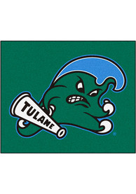 Tulane Green Wave 60x71 Tailgater Mat Outdoor Mat
