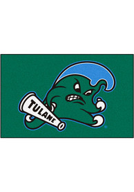 Tulane Green Wave 60x90 Ultimat Outdoor Mat