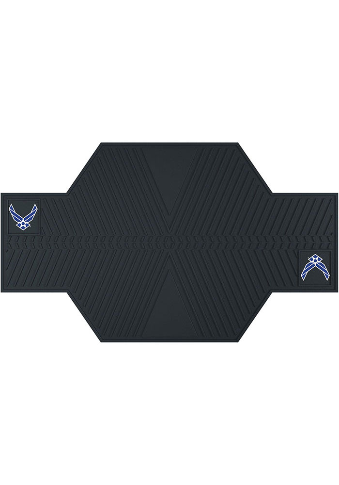 Sports Licensing Solutions Air Force Motorcycle Car Mat - Black - Image 1