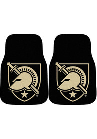 Sports Licensing Solutions Army Black Knights 2-Piece Carpet Car Mat - Black