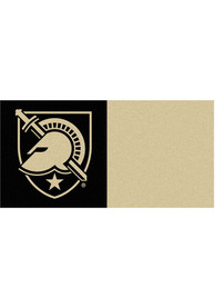 Army Black Knights 18x18 Team Tiles Interior Rug