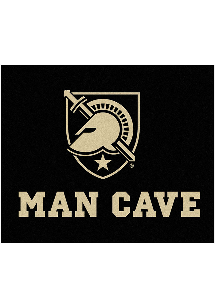 Army Black Knights 60x71 Man Cave Tailgater Mat Outdoor Mat - Image 1