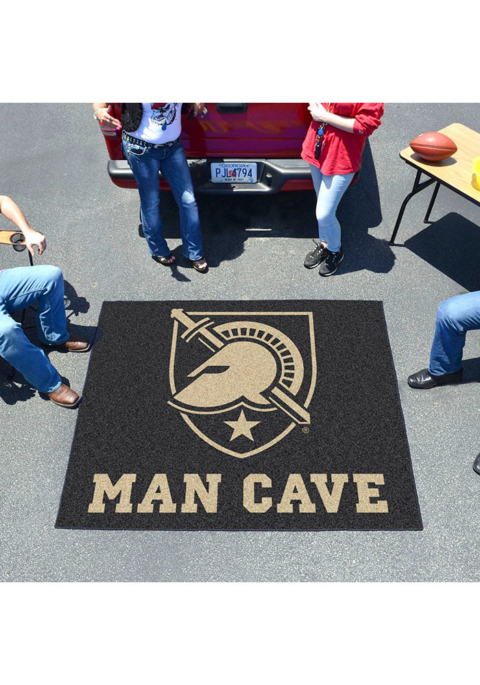 Army Black Knights 60x71 Man Cave Tailgater Mat Outdoor Mat - Image 2