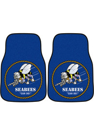 Sports Licensing Solutions Navy 2-Piece Carpet Car Mat - Blue