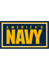 Navy 3x5 Plush Interior Rug