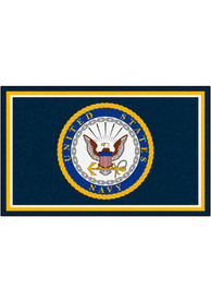 Navy 4x6 Plush Interior Rug