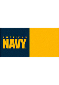 Navy 18x18 Team Tiles Interior Rug