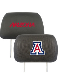 Sports Licensing Solutions Arizona Wildcats 10x13 Auto Head Rest Cover - Black