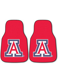 Sports Licensing Solutions Arizona Wildcats 2-Piece Carpet Car Mat - Red